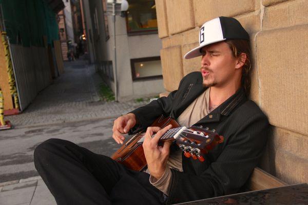 justin guitar wall