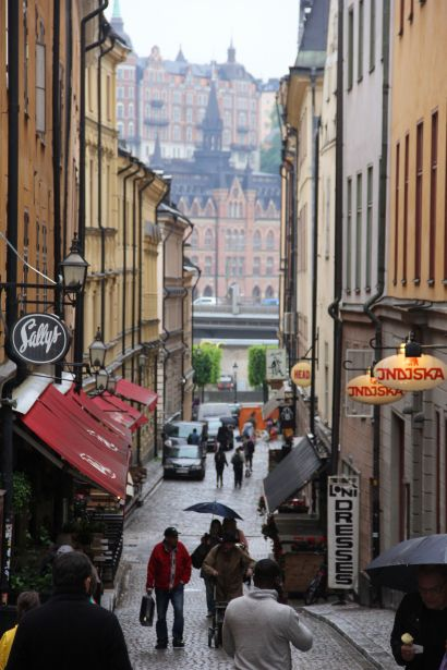 stockholm rain