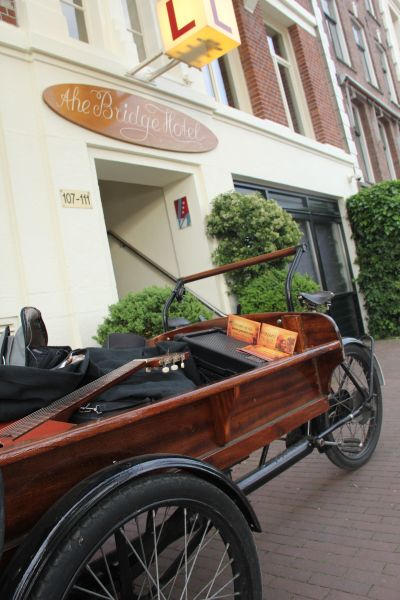 bridge hotel bike