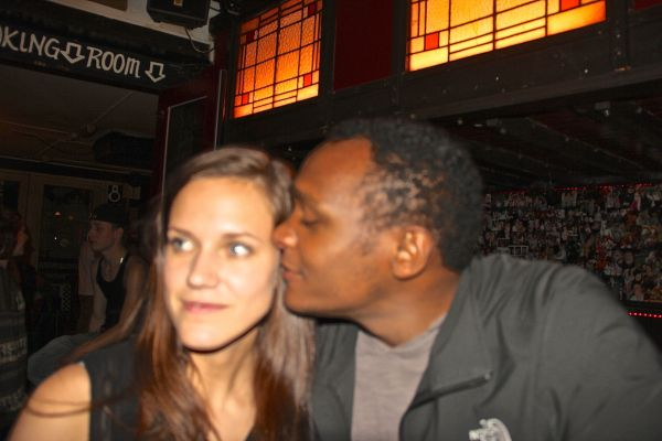 guy kisses girl 2
