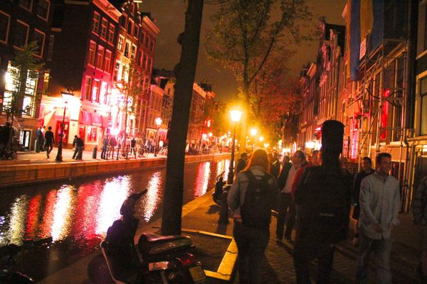 night canal