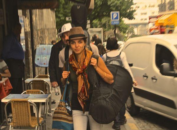 saisha walking
