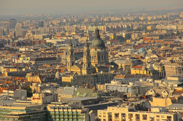budapest view buildings