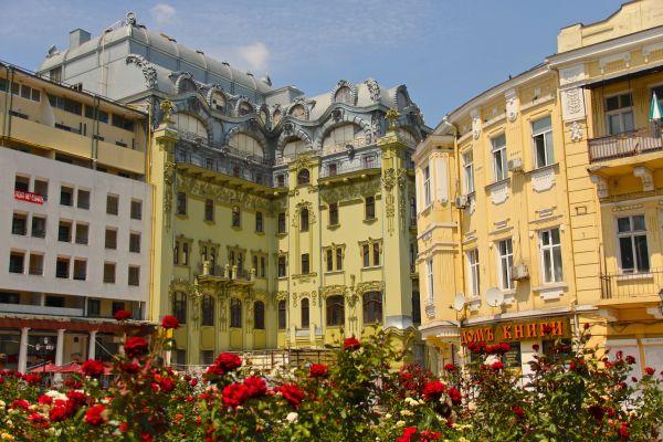 roses buildings