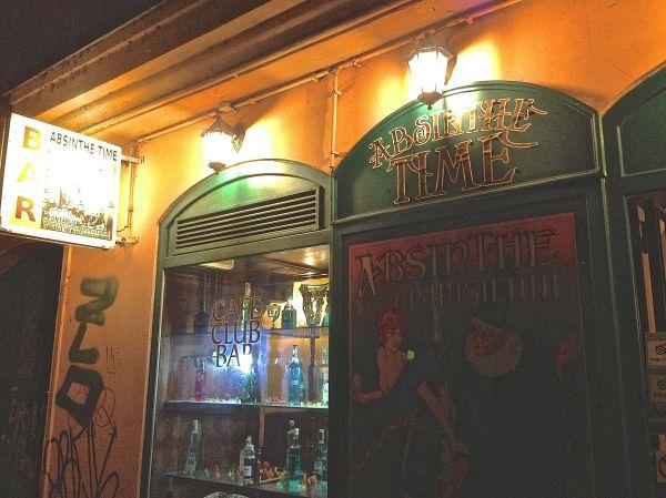absinthe time bar