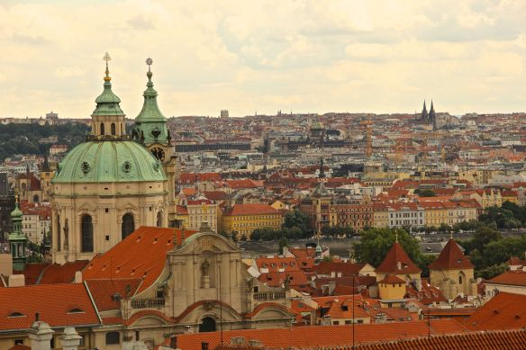 prague city buildings