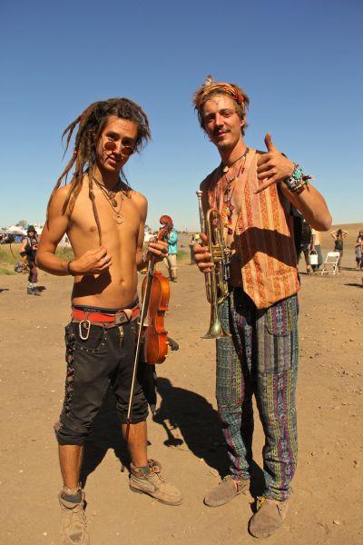 hippie musicians