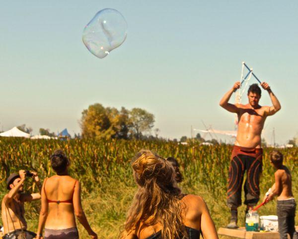 one bubble