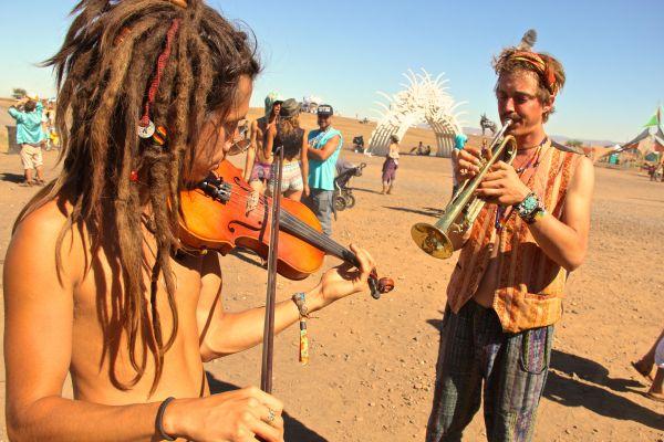 violin trumpet