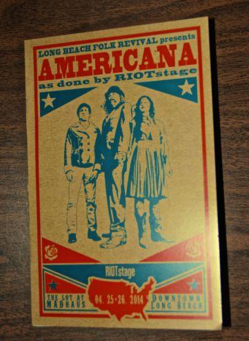 americana brochure