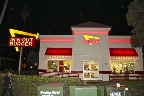 in and out hollywood