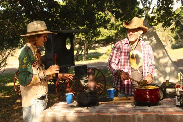 sacha cooking