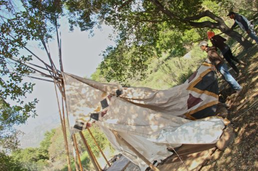 teepee set up 4