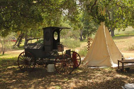 teepee wagon